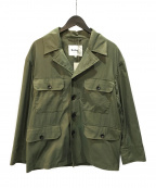 Barbour(バブアー)の古着「20ss MILITARY JACKET C/N」|カーキ
