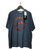 UNDERCOVER()の古着「BAT Tee」|ブルー