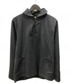 PHIGVEL MAKERS(フィグベルマーカーズ)の古着「NAVAL PULLOVER SHIRT」|ブラック