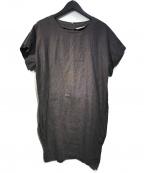 fog linen work(フォグリネンワーク)の古着「リネンワンピース」 グレー