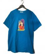 flagstuff()の古着「別注 Mermaid Tee プリントTシャツ」|ブルー