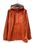 ()の古着「レイントレッカージャケット」 オレンジ