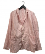BRU NA BOINNE(ブルーナボイン)の古着「コットンジャケット」|レッド