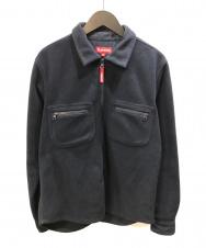 SUPREME (シュプリーム) フリースジャケット ネイビー サイズ:M