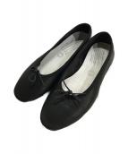 travel shoes by chausser(トラベルシューズバイショセ)の古着「バレエシューズ」|ブラック