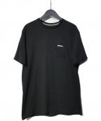 Patagonia()の古着「P-6ロゴ・ポケット・レスポンシビリティー」|ブラック