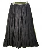MARIHA(マリハ)の古着「ロングスカート」|ネイビー
