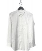 ()の古着「ワイヤーwashシャツ」 ホワイト