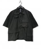 SHINYA KOZUKA(シンヤコズカ)の古着「タクティカルシャツ」|ブラック