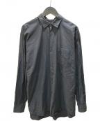 COMOLI(コモリ)の古着「COMOLI SHIRTS レギュラカラーシャツ」|ブラック