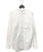 Black Fleece(ブラックフリース)の古着「B.D オックスフォードシャツ」|ホワイト