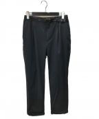 BEAUTY&YOUTH UNITED ARROWS(ビューティーアンドユースユナイテッドアローズ)の古着「360 MASTERベルテッド1Pパンツ」|ブラック