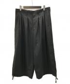 GROUND Y()の古着「Balloon Pants Double Serge」|ブラック