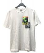 ()の古着「Meltdownnn Print Tee Tシャツ」|ホワイト