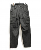 MUZE(ミューズ)の古着「20ss COOL DOTS CARGO PANTS」 グレー