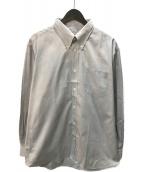 ()の古着「セリエカフスドレスシャツ」 グレー