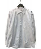 ()の古着「セリエカフスレギュラーカラーシャツ」 ブルー