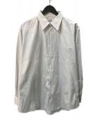 ()の古着「セリエカフスレギュラーカラーシャツ」 グレー