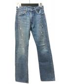 ()の古着「バレンシア工場 501デニムパンツ」|インディゴ