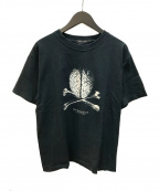 UNDERCOVERISM()の古着「But Brain Cross Bone Tour Tee 」|ブラック