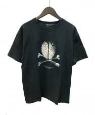 UNDERCOVERISM (アンダーカバーイズム) But Brain Cross Bone Tour Tee  ブラック サイズ:M