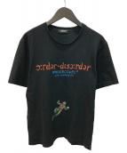()の古着「order-disorder sketch TEE Tシャツ」|ブラック