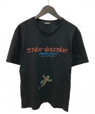 UNDERCOVER (アンダーカバー) order-disorder sketch TEE Tシャツ ブラック サイズ:3