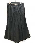 YohjiYamamoto pour homme(ヨウジヤマモトプールオム)の古着「19ssProducts dyed HAKAMA Pants」 ブラック