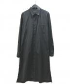 s'yte(サイト)の古着「ブロードロングシャツ」 ブラック