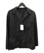 UNITED ARROWS(ユナイテッドアローズ)の古着「ギャバジンボイルシャツジャケット」|ブラック