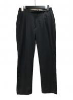 BEAUTY&YOUTH(ビューティアンドユース)の古着「ベルテッド1Pイージーパンツ」 ブラック