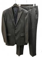 BURBERRY BLACK LABEL(バーバリーブラックレーベル)の古着「2Bセットアップスーツ super100's」|グレー