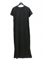 ELENDEEK x DESCENDANT(エレンディーク ディゼンダント)の古着「LONG LEAN CS OP カットソーワンピース」|ブラック