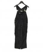 LEVI'S(リーバイス)の古着「コーデュロイオーバーオール」|ブラック