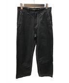 ()の古着「duck pants パンツ」|ブラック