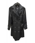 ()の古着「ライナー付トレンチコート」|ブラック