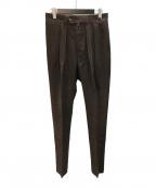 NEAT(ニート)の古着「WOOL COTTON CORDUROY パンツ」|ブラウン