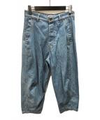 ()の古着「バルーンデニムパンツ」|インディゴ