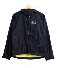 A BATHING APE(ア ベイシング エイプ)の古着「ナイロンジャケット」|ブラック