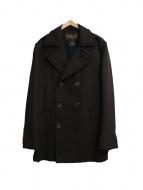 LOUIS VUITTON(ルイ・ヴィトン)の古着「Pコート」|ブラウン