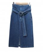 CURRENTAGE(カレンテージ)の古着「デニムスカート」