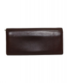cocomeister(ココマイスター)の古着「2つ折り長財布」 ボルドー