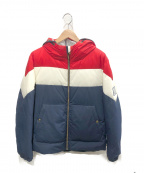 MONCLER GAMME BLEU(モンクレール ガム ブルー)の古着「ダウンジャケット」|トリコロールカラー