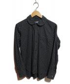 BLACK COMME des GARCONS(ブラックコムデギャルソン)の古着「ドットシャツ」