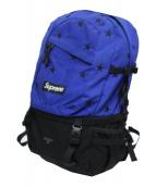 SUPREME(シュプリーム)の古着「スターズバックパック」 ブルー×ブラック