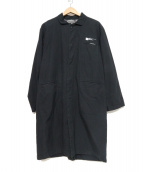 NEIGHBORHOOD(ネイバーフッド)の古着「ステンカラーコート」 ブラック