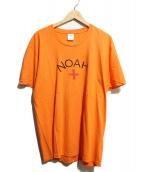 Noah(ノア)の古着「プリントTシャツ」|オレンジ