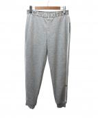 Calvin Klein(カルバンクライン)の古着「スウェットパンツ」|グレー×ホワイト