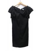EPOCA(エポカ)の古着「シェリーコットンドレス」 ブラック