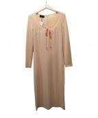 D&G(ディーアンドジ)の古着「カットソーワンピース」|ピンク